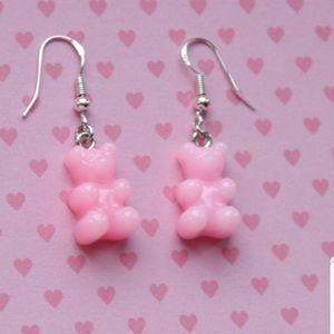 Handmade Gummy Bear Earrings
